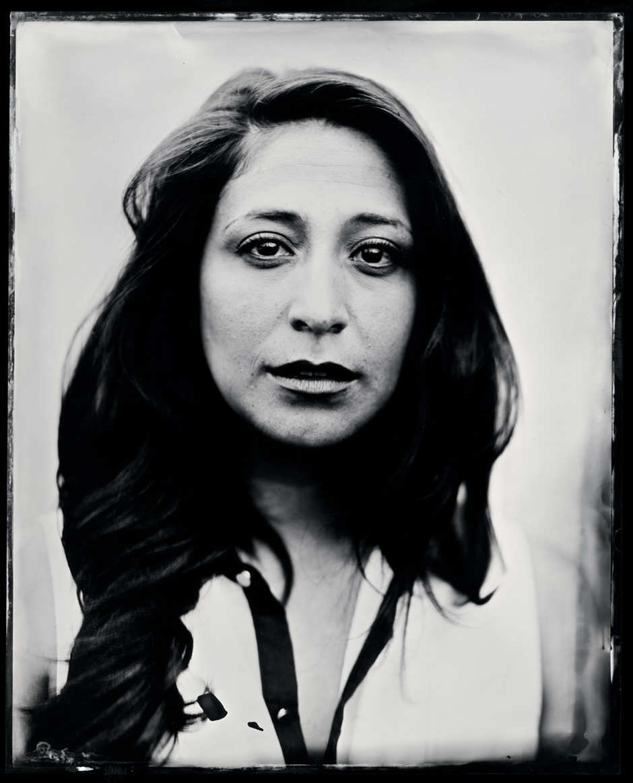 Angelica Maria Baca, tintype, 8x10.