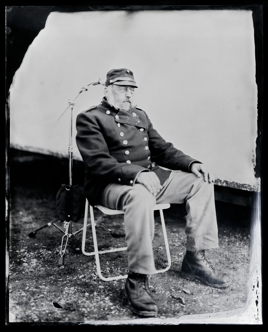 Joern Jessen, tintype, 8x10.