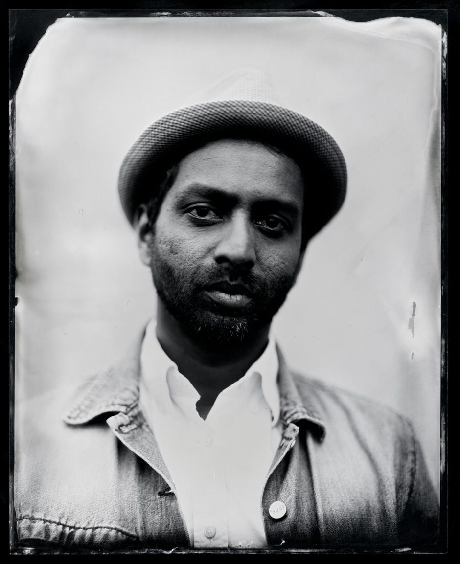 Shehab Illyas, tintype, 8x10.