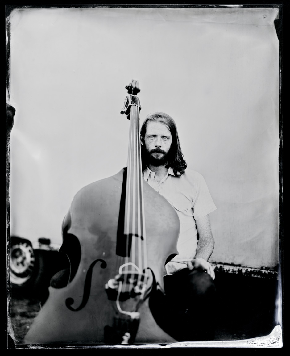 Charlie Muench, tintype, 8x10.