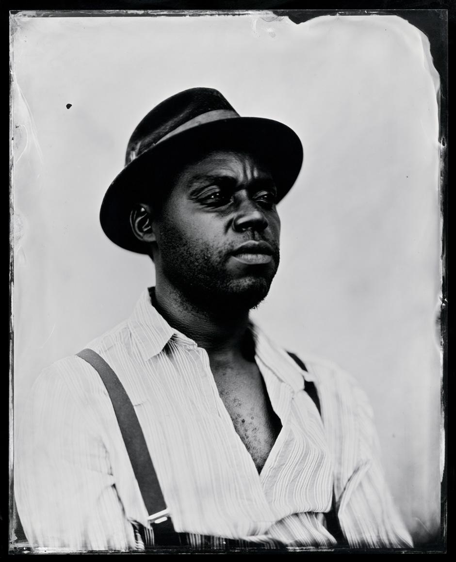 Cedric Watson, tintype, 8x10.
