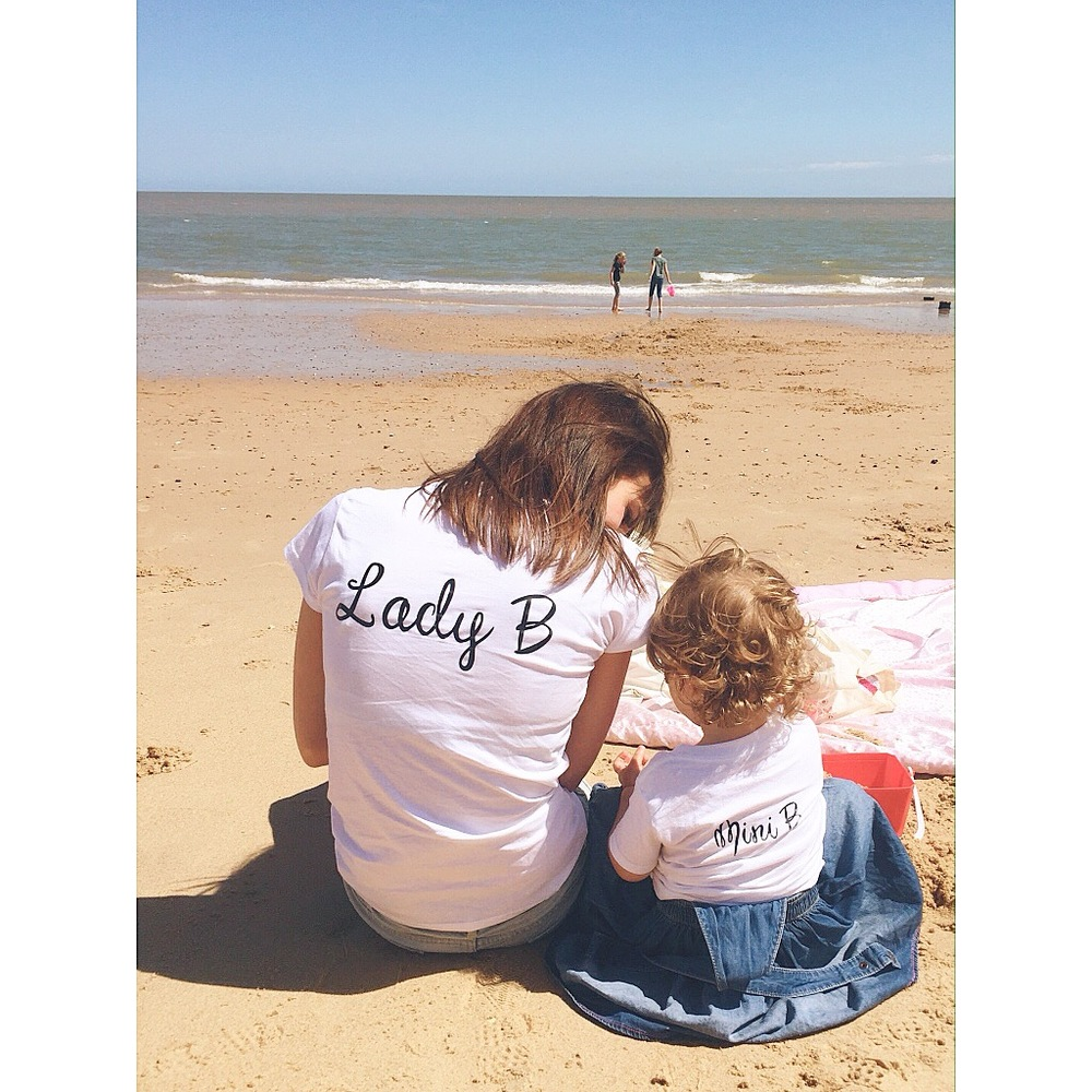 Fab matching tees courtesy of  Essex Mama