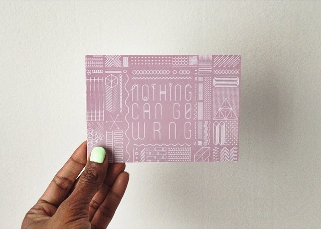 Let me hear a whoop whoop for new and exciting projects!Just launchedNothing Can Go Wrng, a (Wonderful) Print + Pattern Studio.This wayfor the curious ones.