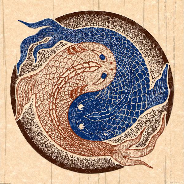Shuiwudao Yin Yang by Peter Patrick Barreda
