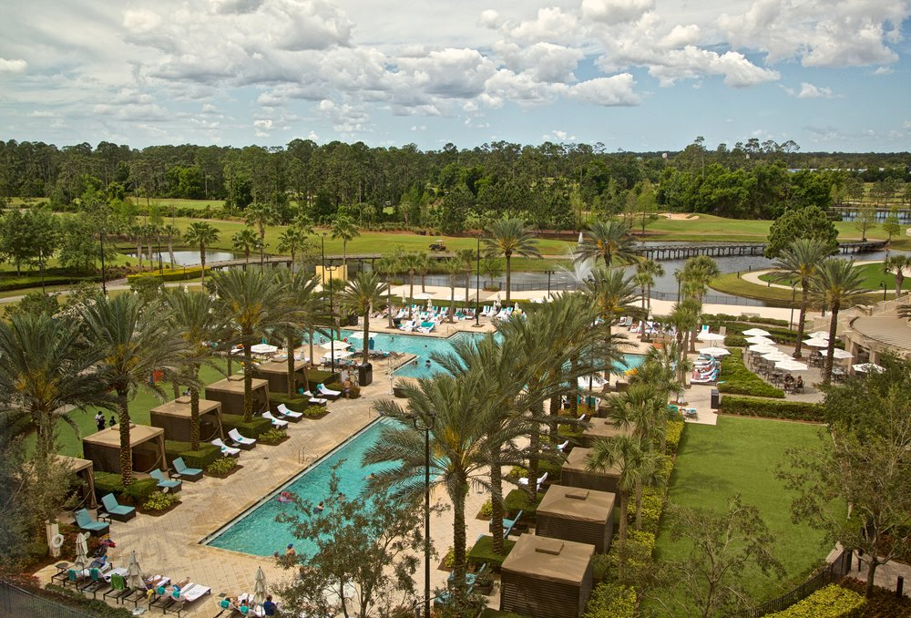 Waldorf Astoria, Orlando Bonnet Creek, view from Room 507