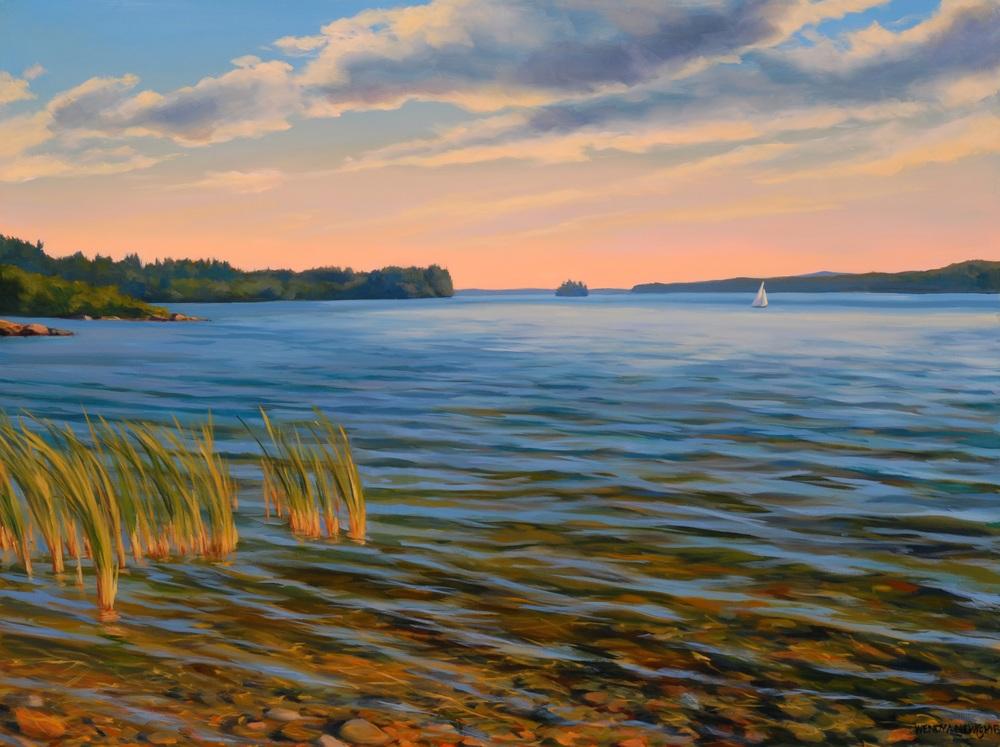 Raymond Beach Triptych #3 Detail
