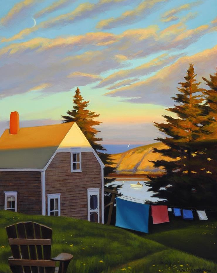 Daybreak on Monhegan