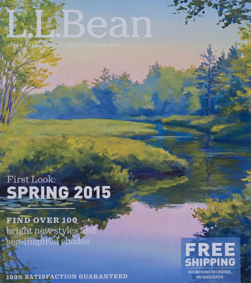L.L. Bean Cover  Spring Catalog 2015