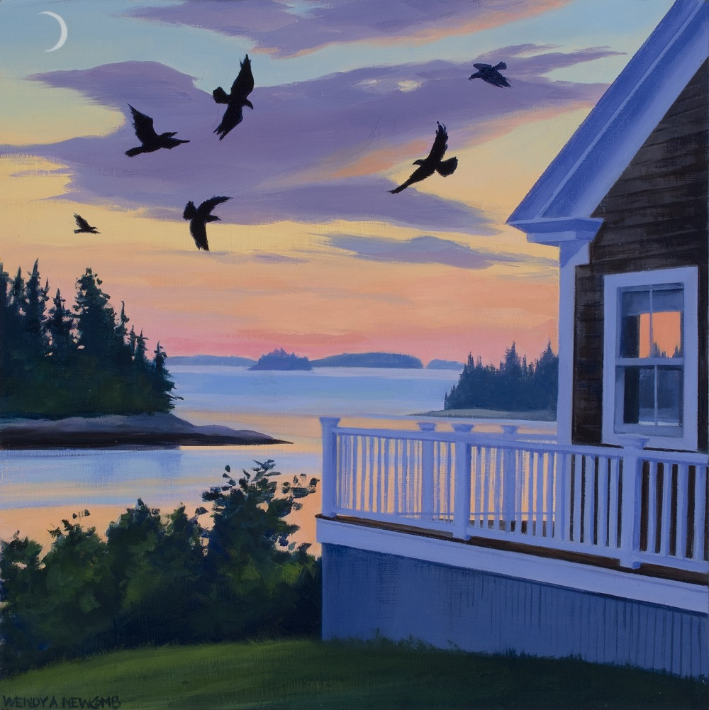 Crows at Twilight