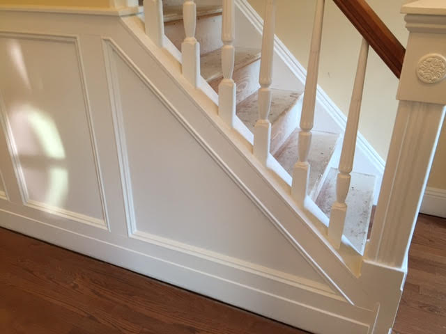 New shadow-box molding, thanks to Michael Moore of MEM Builders, Mercer County, NJ