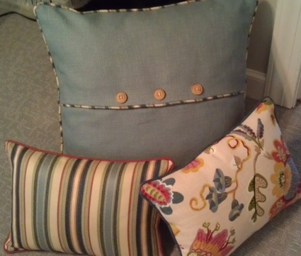 Custom Accent Pillows, Lynnfield, MA