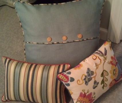 Custom Accent Pillows, Lynnfield, MA