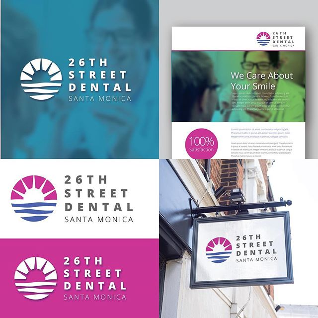 A fun recent concept for a dental office in Santa Monica. . . . #graphicdesign #branding #brandidentity #print #logo #business #dentist #dental #marketing #signage #documentowls
