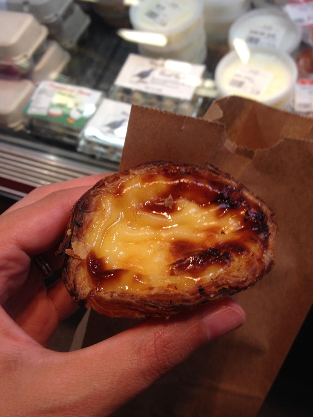 Portugese Custard Tarte