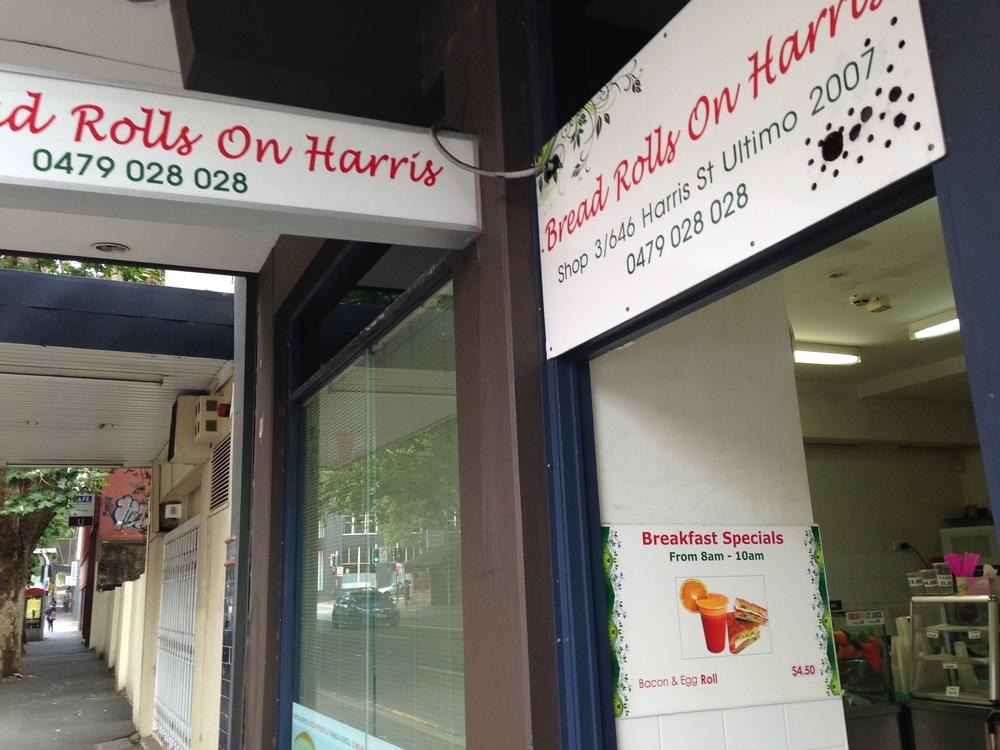 Bread Rolls on Harris