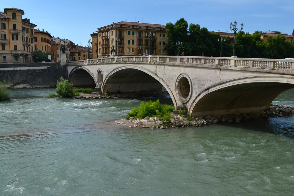 Verona - over the river Adige