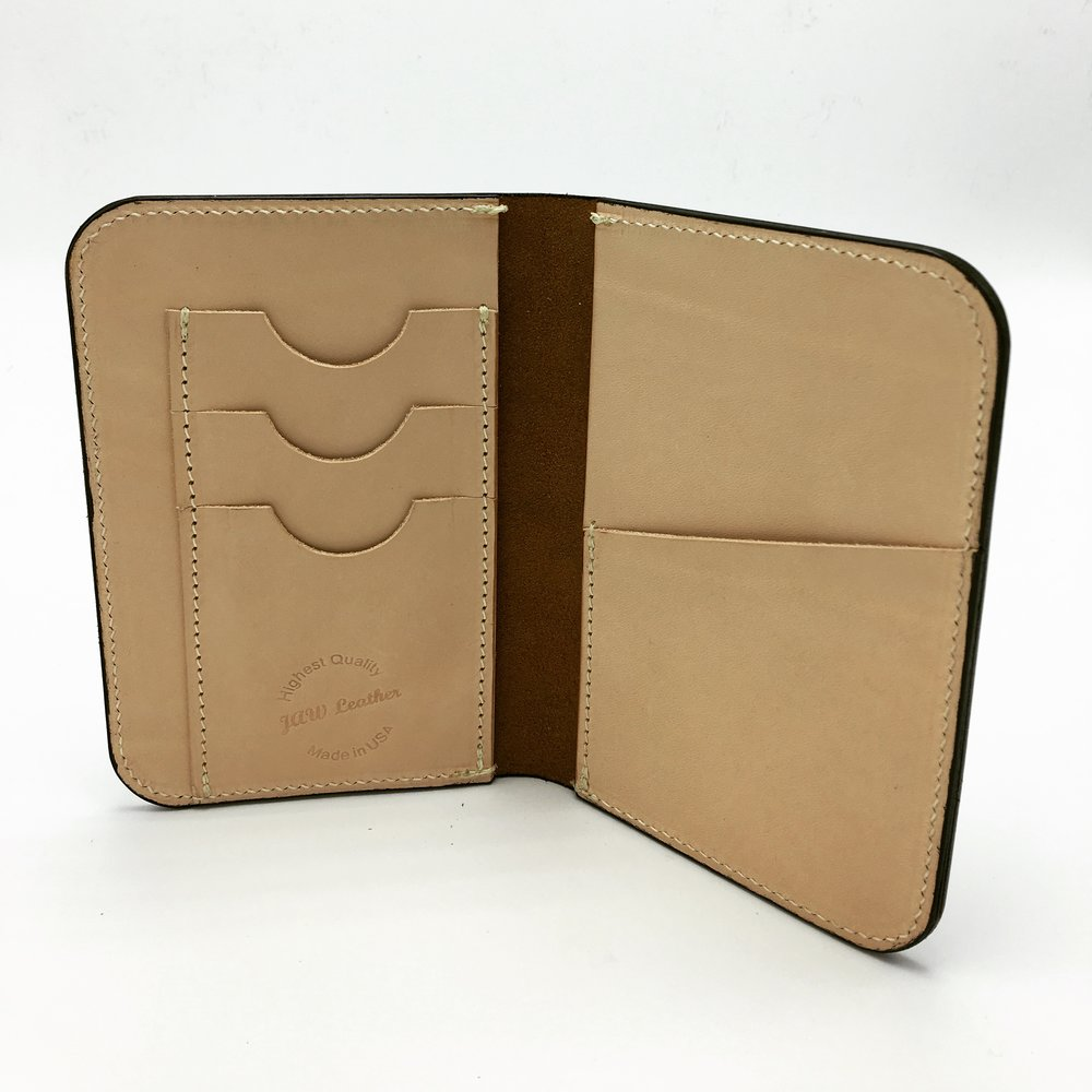 Inside passport wallet