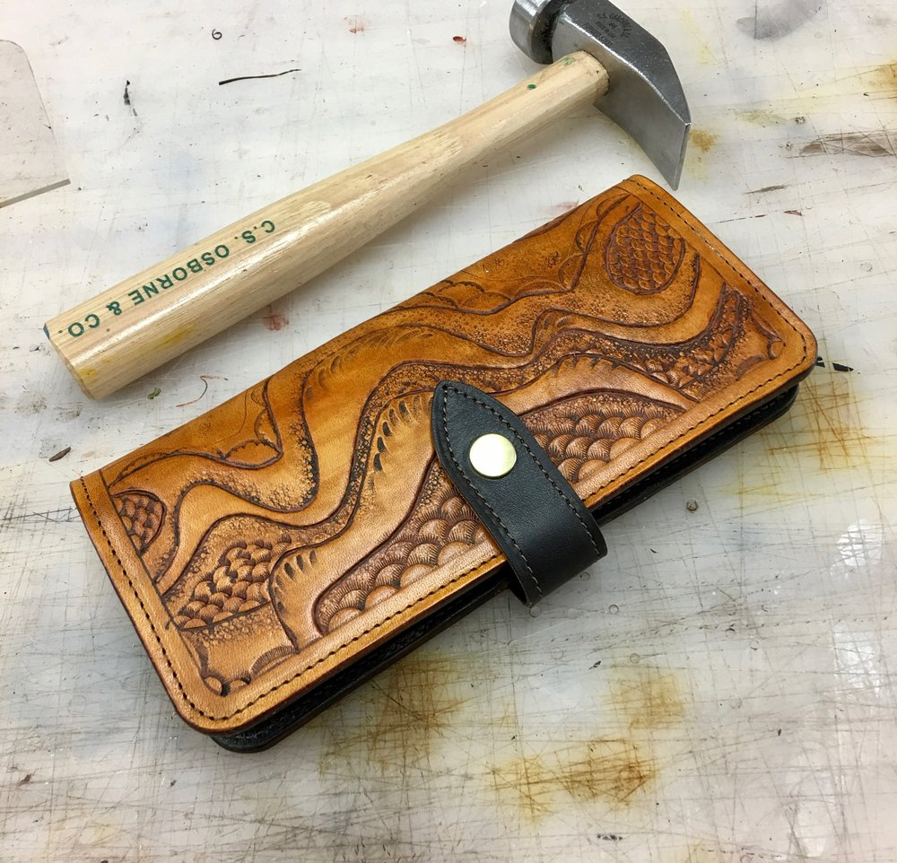 Tooled Ladies Wallet