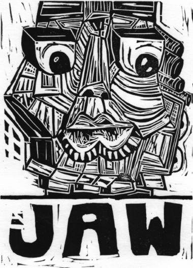 JAW Block Print