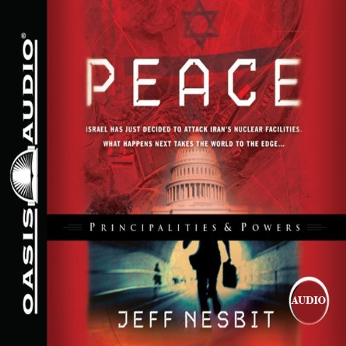 "Audible audiobook available at Amazon   Narrated by Broadway actor Robertson Dean Review ""When Iran's nuclear program accelerates, alarmed Israelis launch stealth bombers. While fundamentalist Christians and Jews celebrate and Islamic populations rage, world leaders look for peaceful solutions. Robertson Dean handles Nesbit's complex plot with precision. His depictions of the anxiety over peace talks aimed at permanently partitioning Jerusalem to settle the Arab-Jewish conflict capture Israelis' genuine fears of their nation's extinction. Dean's deft handling of diverse nationalities, dual genders, and varying ages ensures that listeners can easily keep track of characters and plot. The story's subtle Christian perspective is portrayed through brief remarks and an occasional prayer that is essential to the story.""  G.D.W. © AudioFile Portland, Maine"