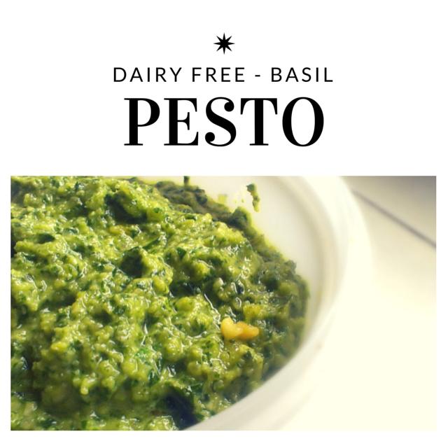 dairy free basil pesto