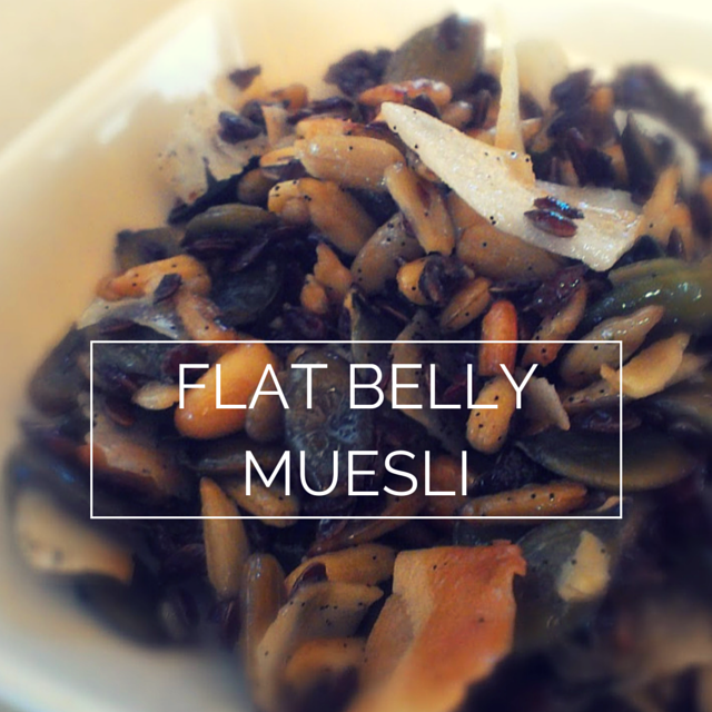 flat belly muesli
