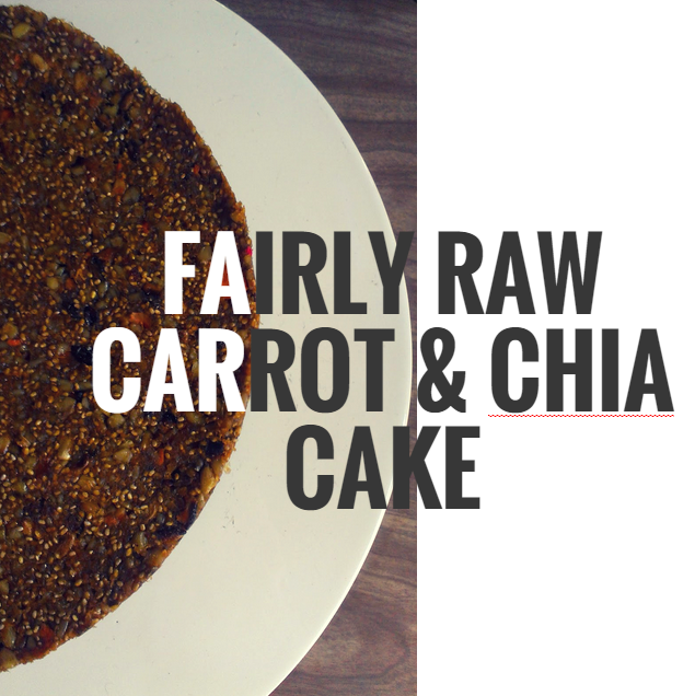 carrot and chia cake