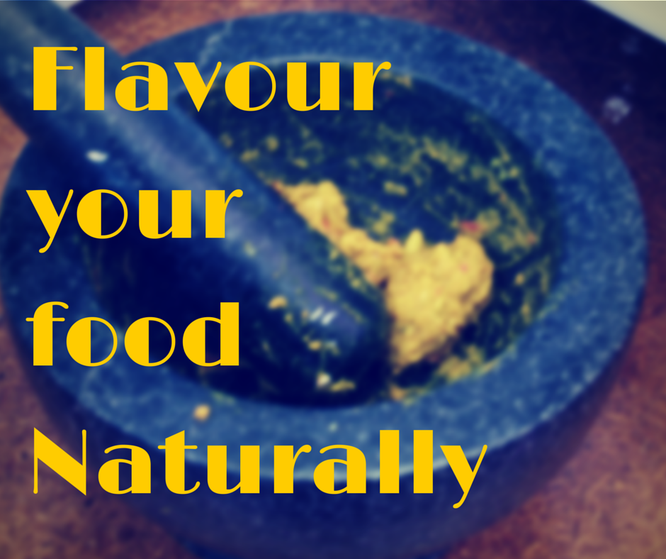 flavour your food naturally