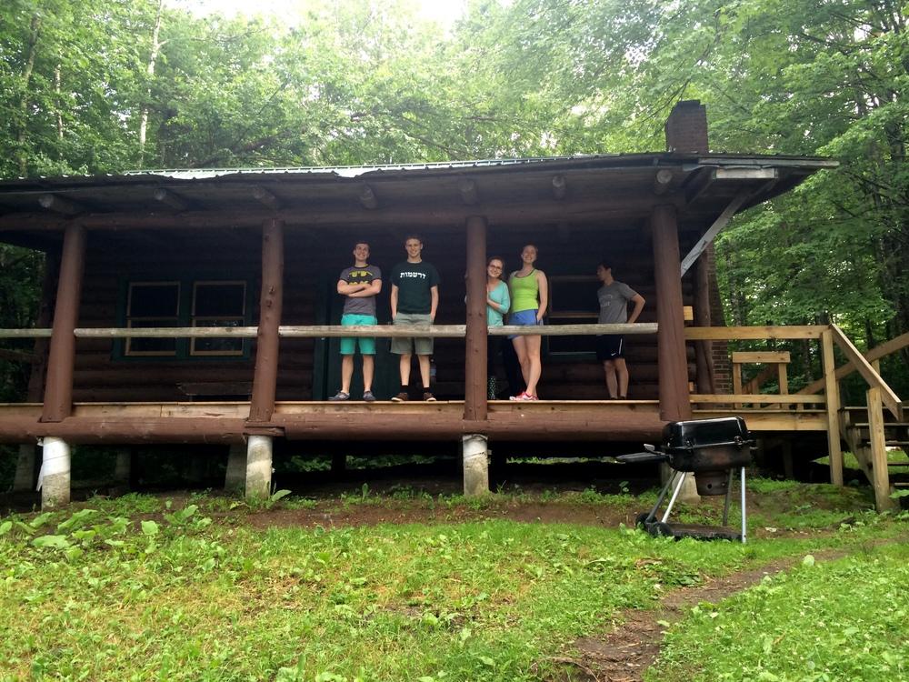 Summer Board at Cabin Retreat