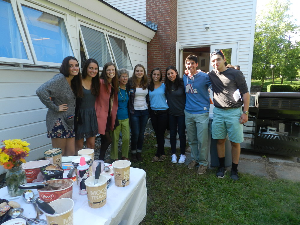 Welcoming 18s with an ice-cream social