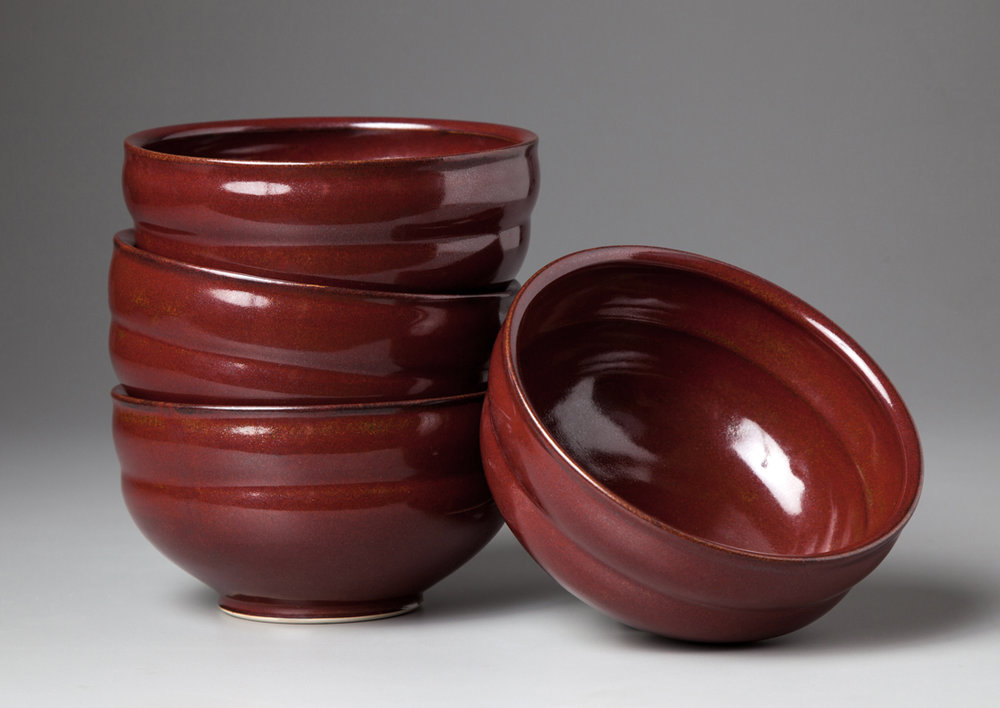 Iron Red Bowls     2013