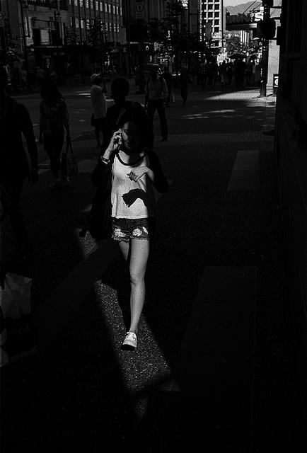 'Summer Shadows' - Vancouver, BC Leica M2 | CV Nokton 40 f/1.4 | Kodak Tri-X