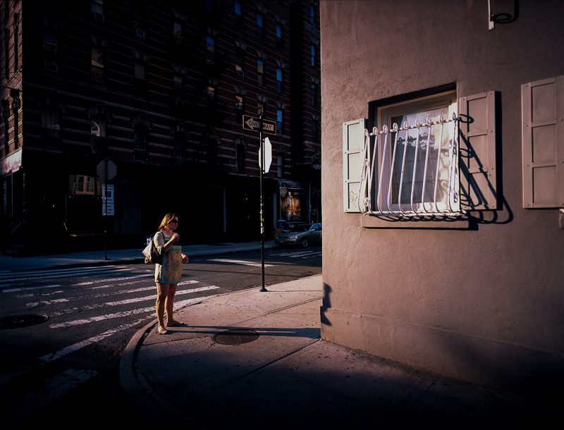 'Decisions' - SoHo, New York City Mamiya 7 | 43 f/4.5 | Provia 100F