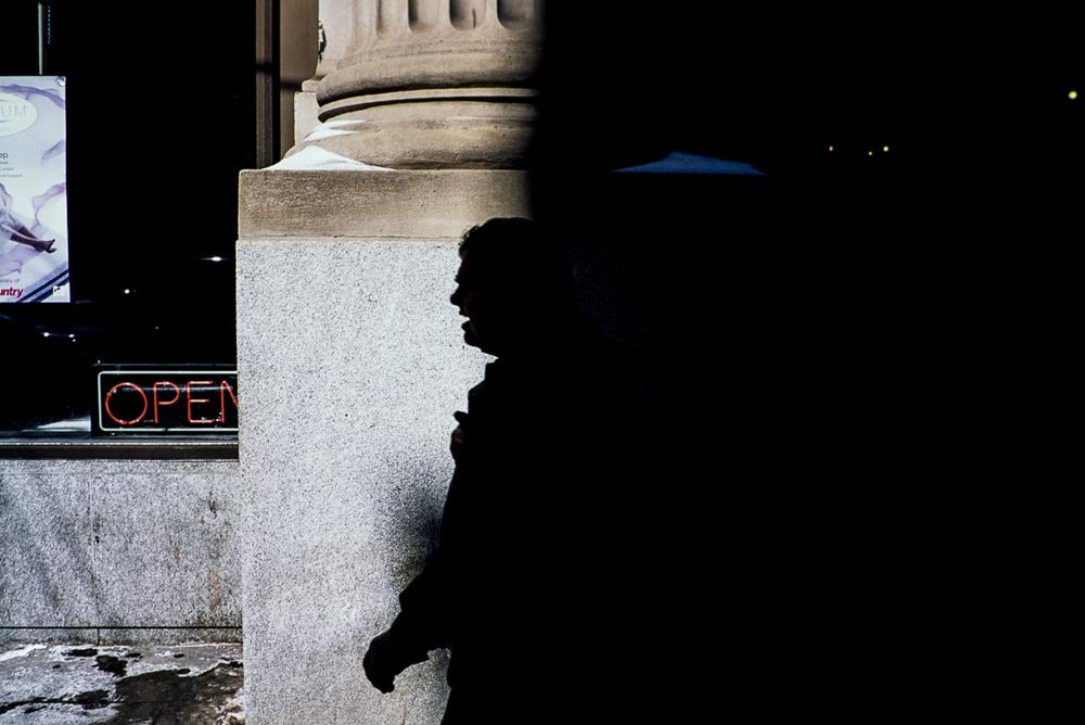 'Open' - Leica MP | Voigtlander Nokton 35 f/1.4 | Fuji Provia 100F