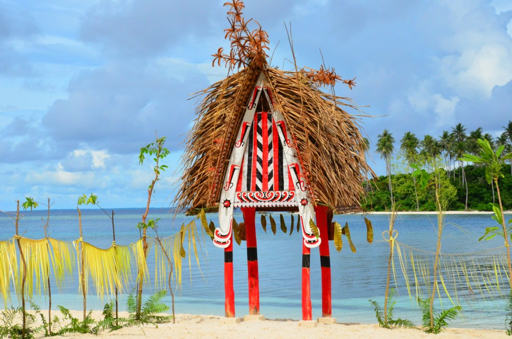 """Welcome Arch"", Nuratu Lagoon, the Trobriands"