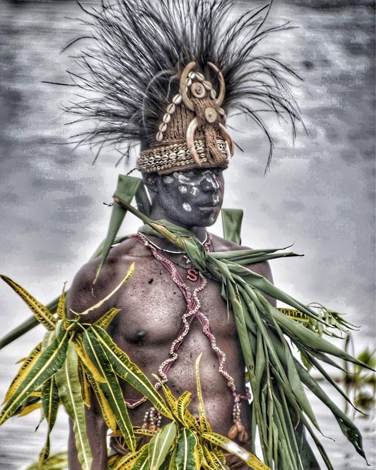 Sepik Warrior, PNG