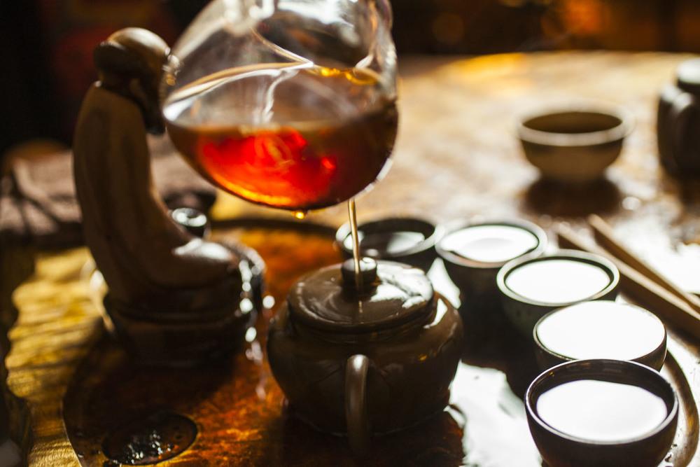 Gung Fu Tea Service