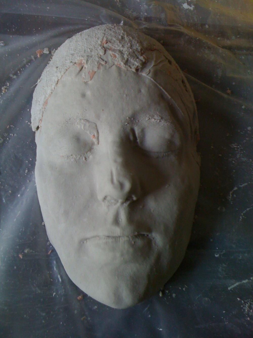 Alginate Face Casting