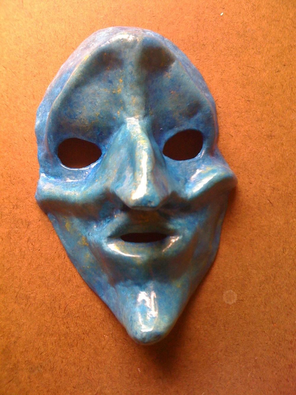 Finished Gesso Mask