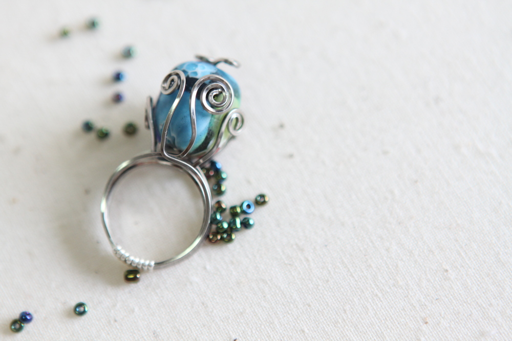 Wirewrapped Ring