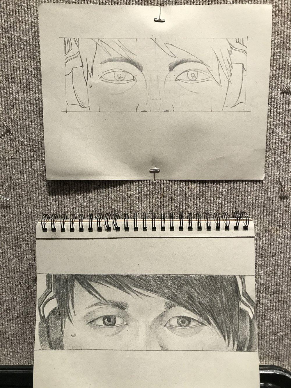 Self Portrait - Eyes