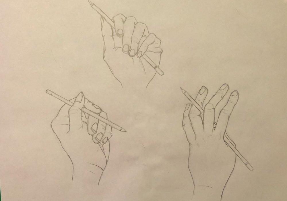 Life Drawing: Hand