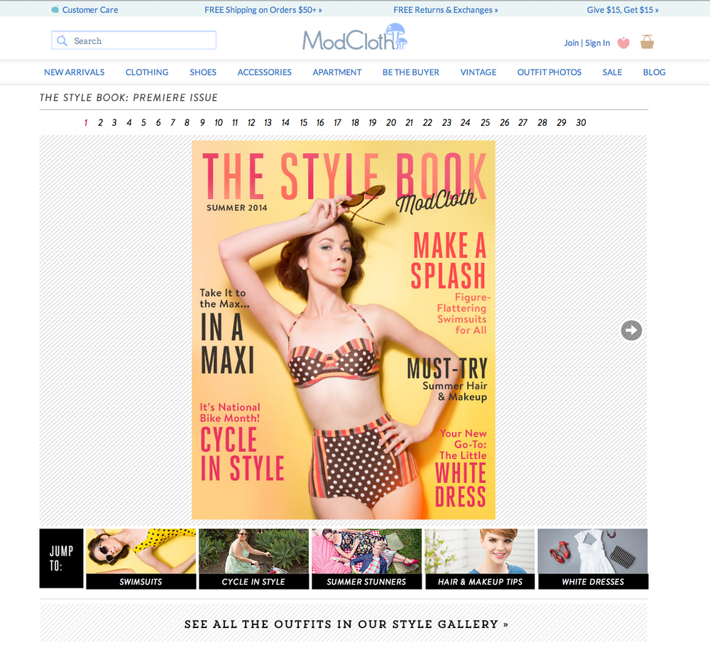 ModCloth - The Style Book