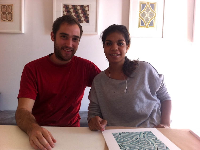 Ruby and TOP printmaker Sean Smith