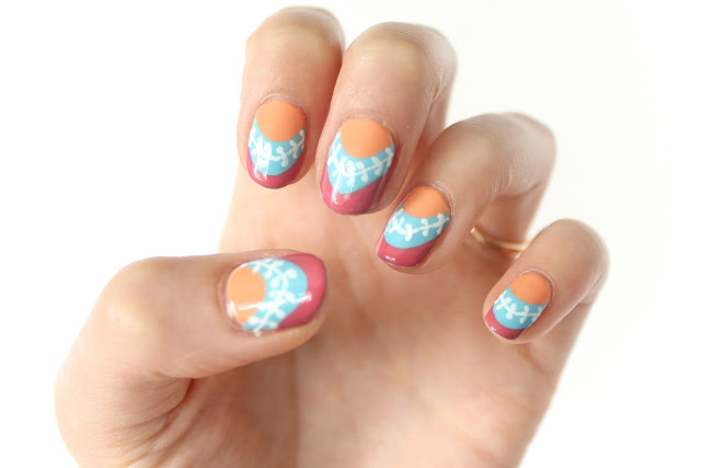 Guest Post An Awesome Nail Art Tutorial Oh No Rachio