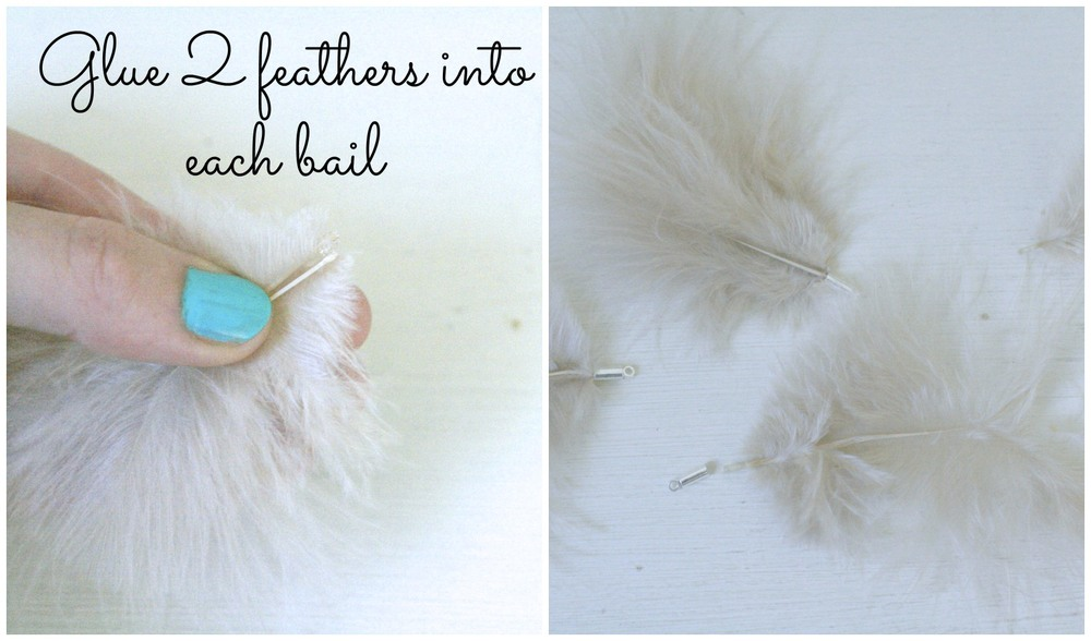 how to make feather necklace
