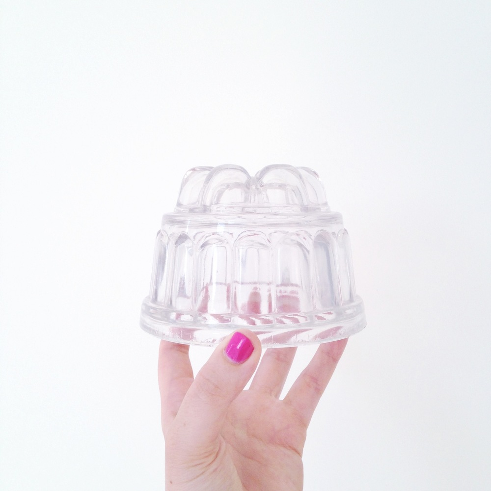 4//. this sweet little jelly mould I found at a antique fair in Cornwall for inspiring me to make. more. jelly.