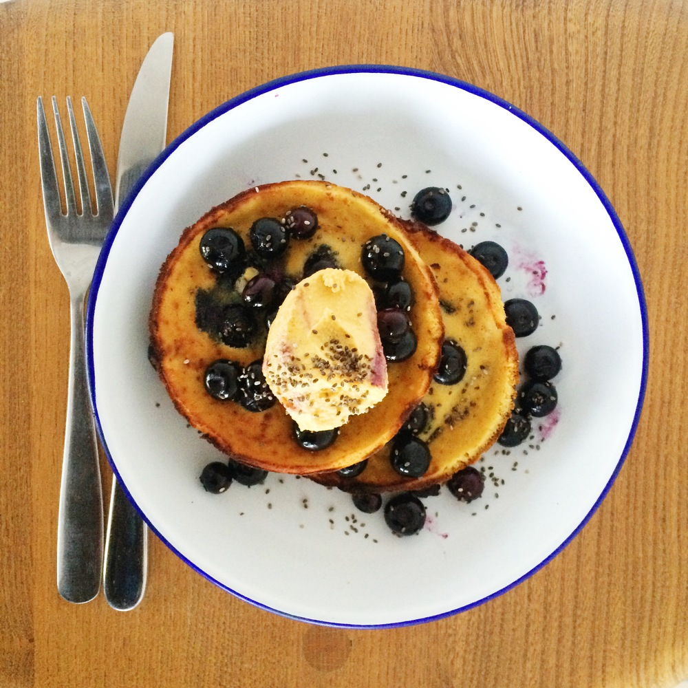 BEST healthy pancakes EVER! {From Hemsley Hemsley of course!}