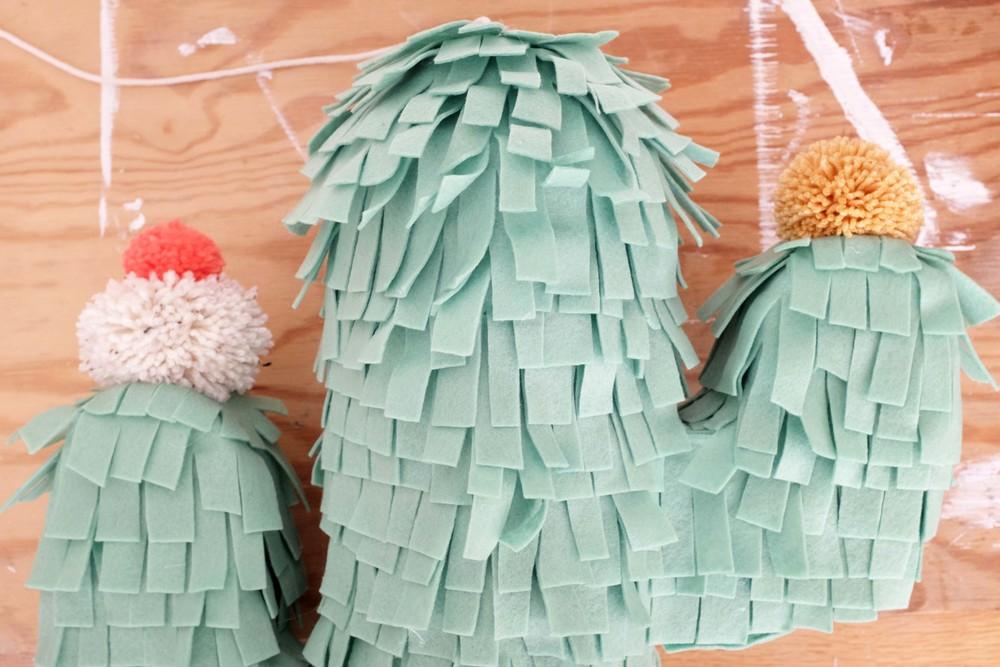 cactus piñata step 12
