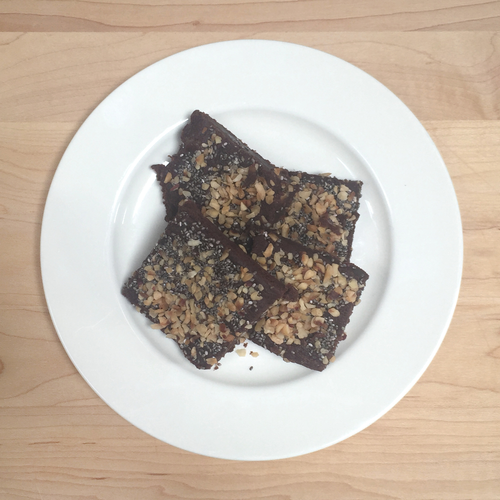 ohnorachio // Abi Everett  - sweet potato brownies from Deliciously Ella